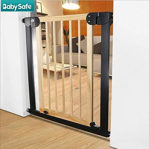 ZSJRL Puerta de Seguridad para niños, barandilla de la Escalera ...