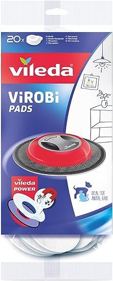 Vileda Virobi Slim - Robot limpiador mopa autónomo, color rose + ...