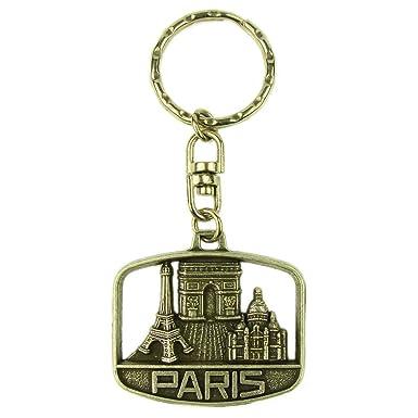 Amazon.com: Recuerdos de Francia – París Monumentos Llavero ...