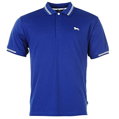 Lonsdale Lion Polo (talla grande) azul cobalto XX-Large : Amazon ...