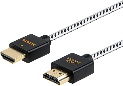 Echo-ACSH6 Ethernet 6 feet and Audio Return Channel ECHOGEAR 6 Ultra Slim Flexible HDMI Cable High-Speed Supports Full 1080P 3D UltraHD 4K