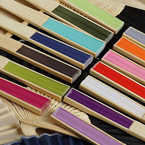 Wholesale Silk Folding Wedding Party Favor Lavender YSefa 50 pcs by YSefa (Image #1)