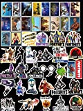 45 pcs Random Variety PVC Car Sticker Motorcycle Bicycle Fortnite Stickers with Waterproof for Laptop Suitcase luggage Skateboard Fortnite Gamers ps4 Adult Kids Birthday Party Favors