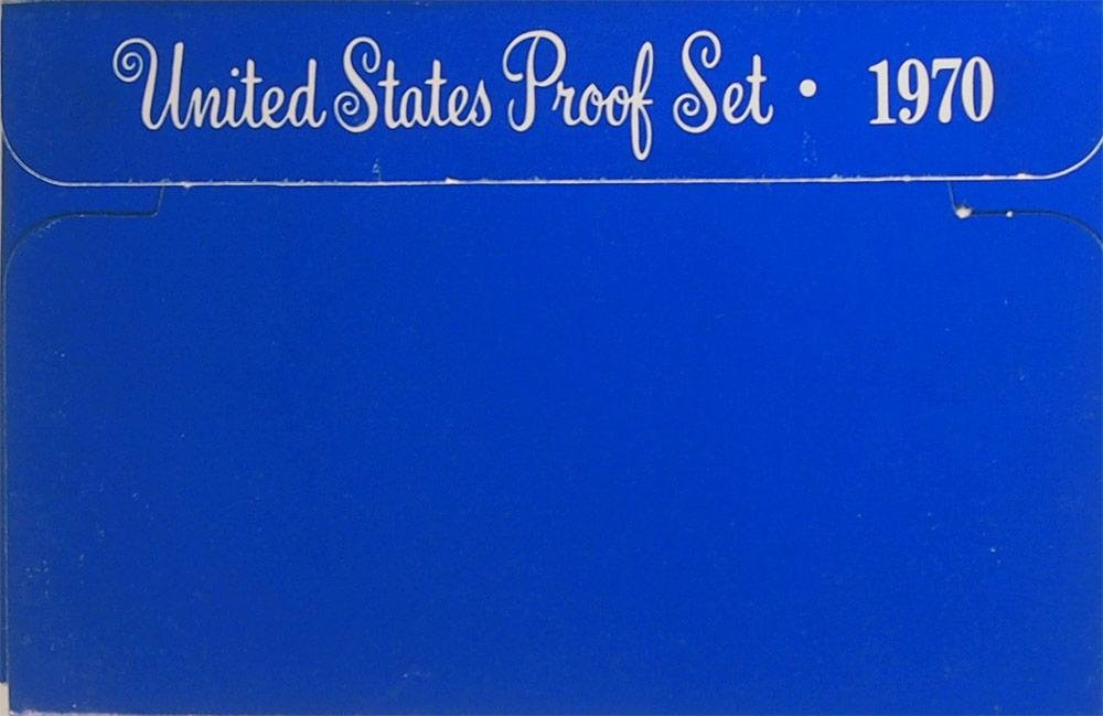 Proof Set 5 coins set 1970 United States Free Shipping *