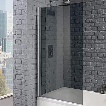 Aquadart AQ6000-SM Venturi 8 - Mampara de baño cuadrada (cristal ahumado de 8 mm): Amazon.es: Bricolaje y herramientas