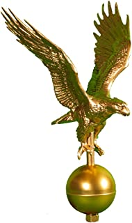product image for Montague Metal Products Flagpole Eagle, 12-Inch, Gold