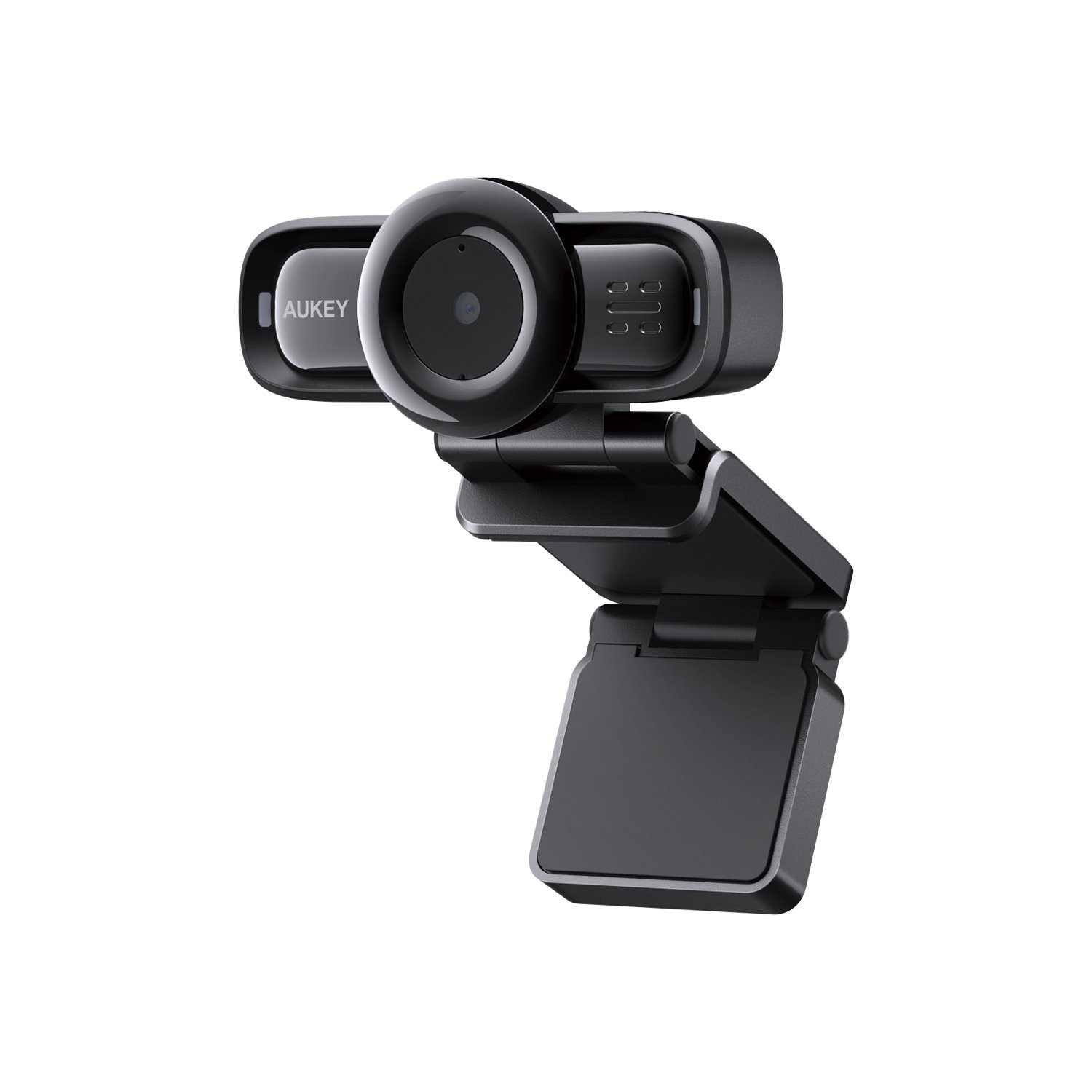 AUKEY Webcam 1080p Full HD with Autofocus, Noise Reduction Microphones, USB Webcam for Widescreen Video Calling and Recording PC-LM3