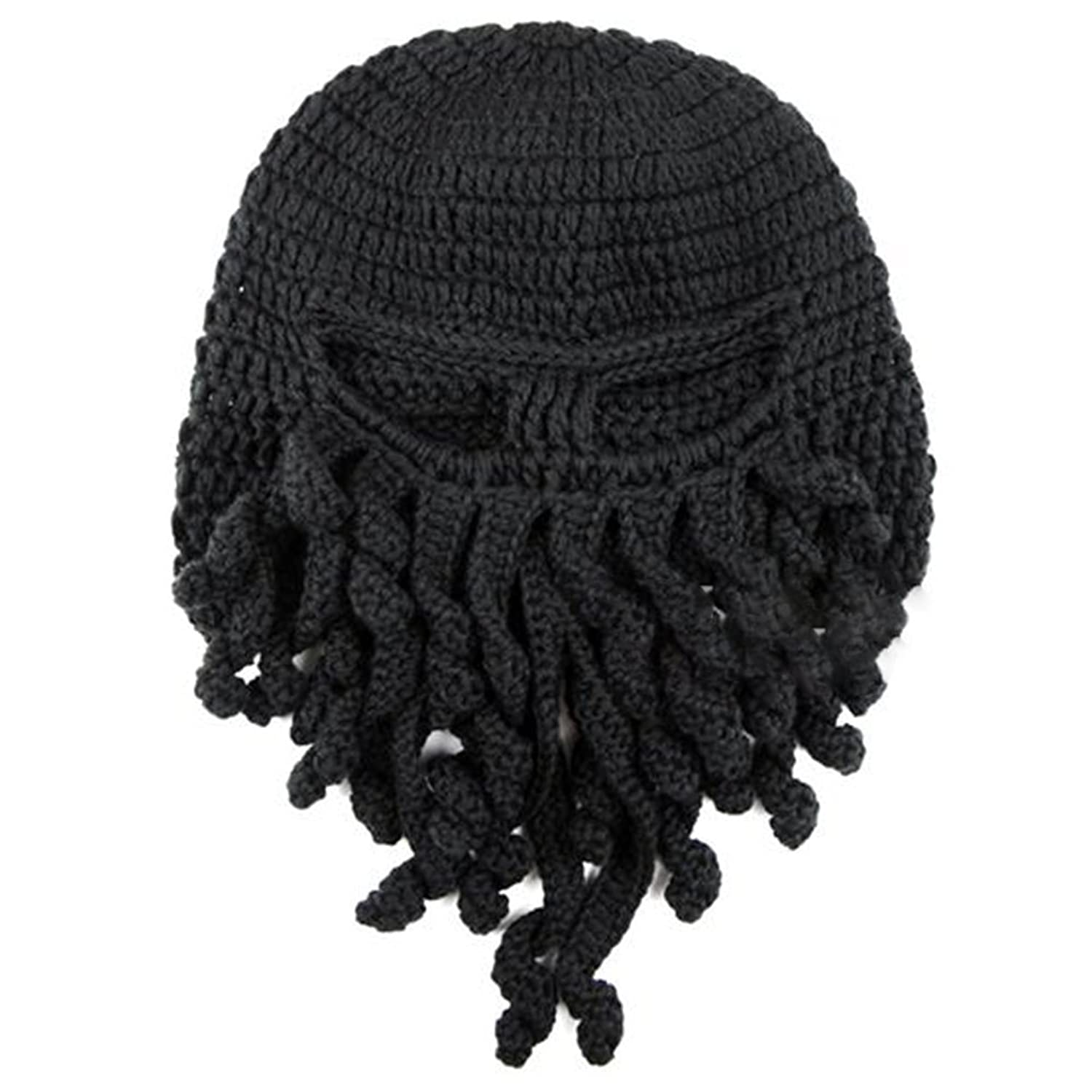 Amazon.com: Tentacle Octopus Cthulhu Knit Beanie Hat Fisher Cap Wind ...