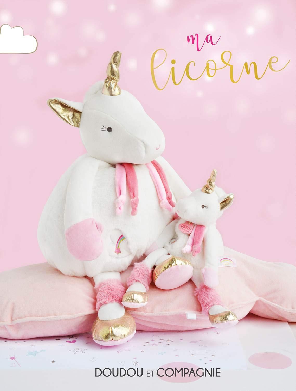 Doudou et Compagnie Range Pyjama Licorne 45 cm