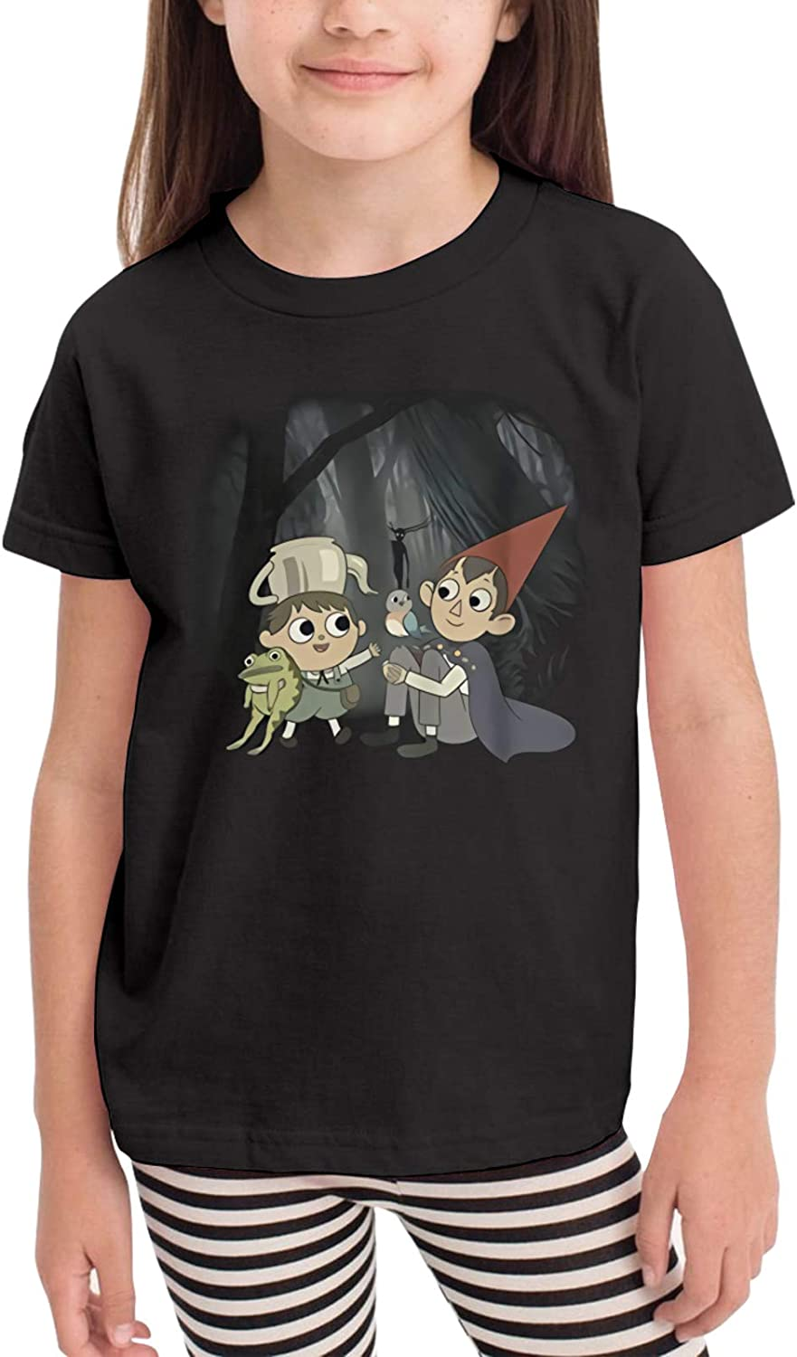Over The Garden Wall Stylish and Cute 2-6 Years Old Boys & Grils Short Sleeve Crewneck Casual Fashion T Shirt