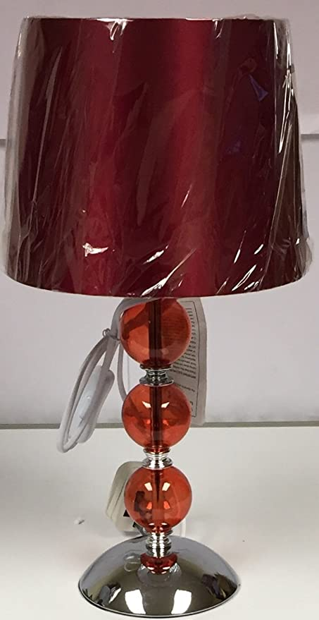 Decor lighting red glass 3 ball glass lamp amazon kitchen home decor lighting red glass 3 ball glass lamp mozeypictures Gallery