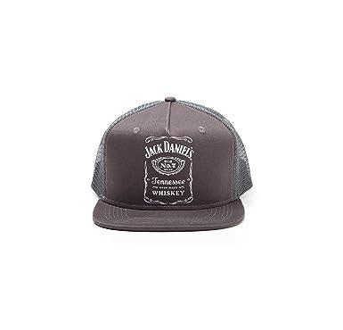 21cd8385a84 Amazon.com  Jack Daniels Baseball Cap Classic Logo Foam Trucker ...