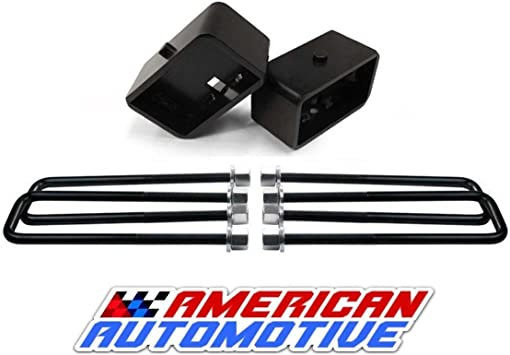 Full 3 Front Supreme Suspensions 2 Rear Lift for 1994-2002 Dodge Ram 2500 3500 4WD with 18 Extended U-Bolts for Overload Models