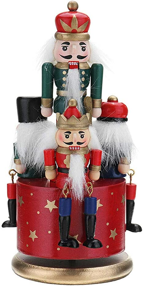 REMNANT OFFCUT TOY SOILDER NUTCRACKER  65 cm x 110 cm CRAFT Fabric