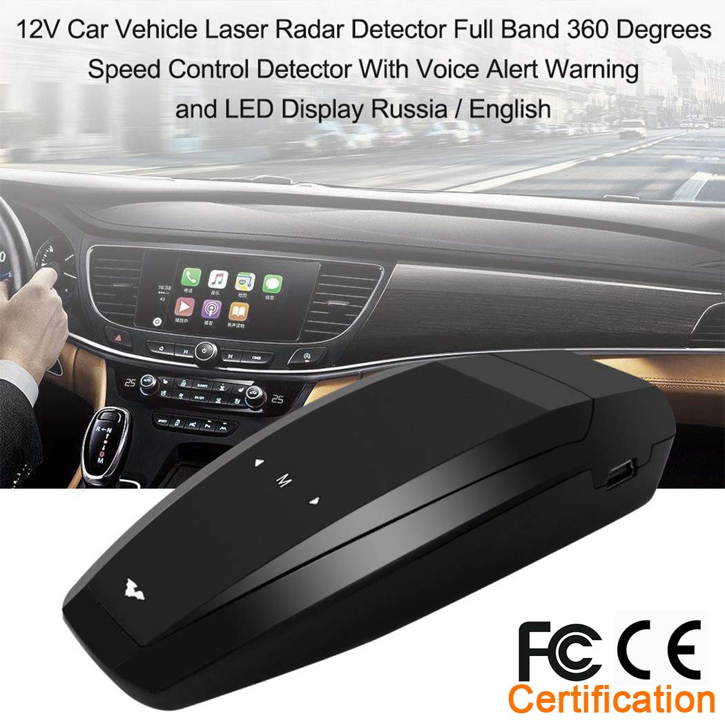 Amazon.com: Radar Detector-Car Speed Mobile Laser Radar Detector, City/Highway Mode Radar Detectors for Cars, Voice Alert and Car Speed Alarm System with ...