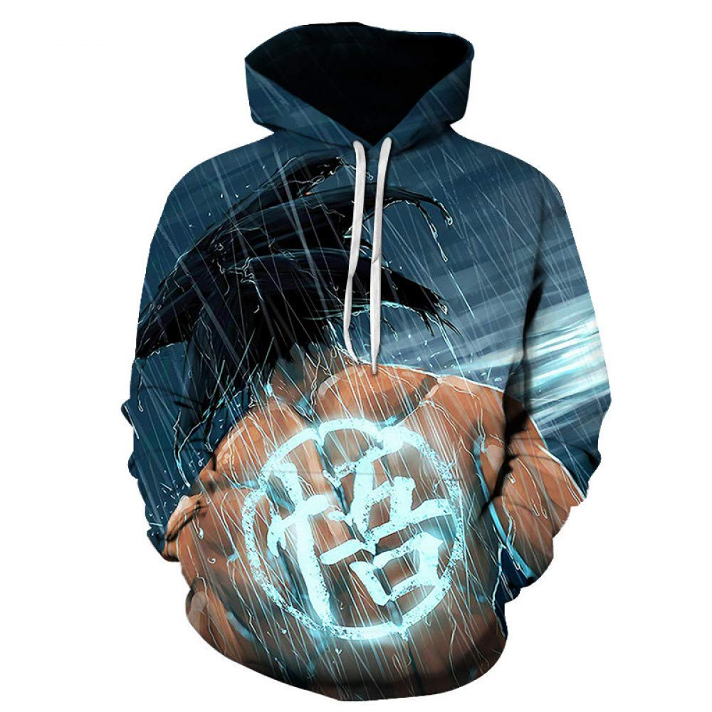WEIYI159 XXL 3D Hoody Coat Outwear Blouse Fashion Coat Winter Jacket with hat Digital Printing Hooded Couple Sweater