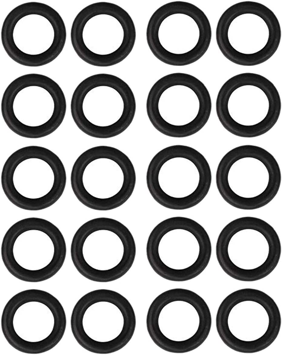 Katigan Power Pressure Washer Rubber O-Rings for 1//4 Inch,3//8 Inch,M22 Quick Connect Coupler,40-Pack