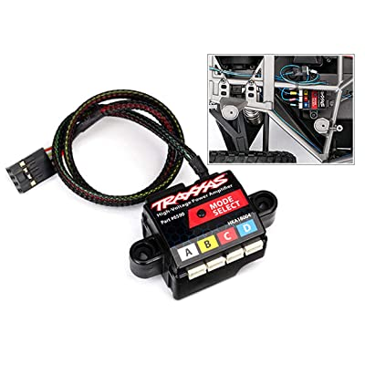Traxxas TRA6590 High-Voltage Power Amplifier: Toys & Games