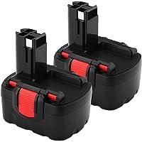 2X FUNMALL 14.4V 3.6Ah Accu voor Bosch batterij BAT038 BAT040 BAT041 BAT140 BAT159 2607335275 2607335685 2607335534…