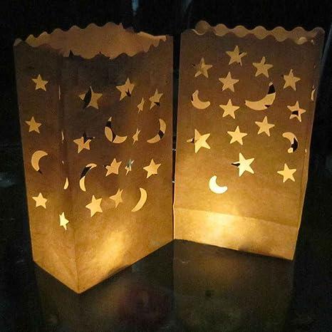 mailfoulen Doble Estrellas del corazón de combustión Lenta ...