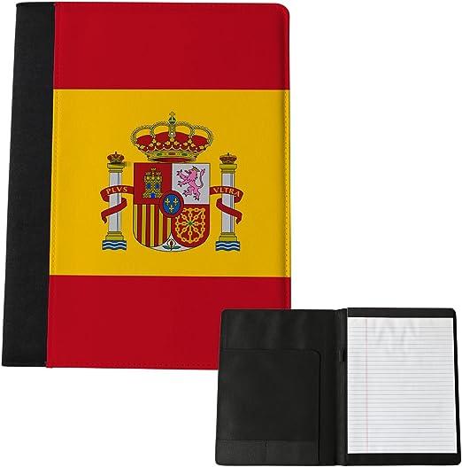Bandera de España grande bloc de notas 198: Amazon.es: Hogar
