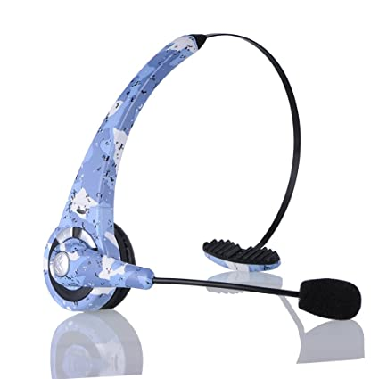 932b06fe64c kiwitatá Camouflage Wireless Bluetooth Headset Headphone For Sony  Playstation 3 PS3 Gaming Headset With Mic Microphone