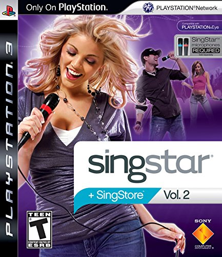 Sony Singstar Vol.2 Video Game for PS3 - 1