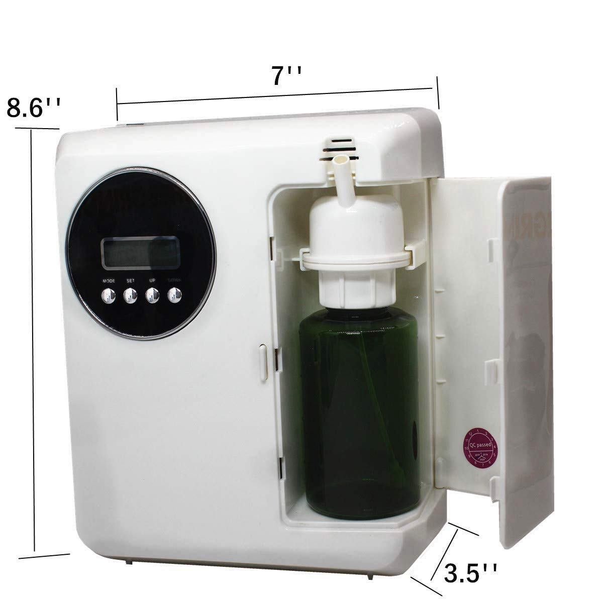 Kevinleo Scent Air Machine Aroma,Video Operation,Waterless,Flexible Work Time(Monday-Sunday),12V USA Plug,150ml Refill Bottle,Stand on Table or Mount on Wall,Fragrance Air Dispenser at Hotel SPA KTV by Kevinleo (Image #8)
