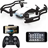 HAOXIN F21G IELLO FPV RC Drone Quadcopter with 720P HD Camera Live Video Optical Flow Positioning Gesture Control Choreography Route Planning Mode VR Mini Drone Helicopter for Kids & Beginners