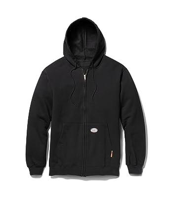 Amazon.com: Rasco FR Men's 100% Cotton Hooded Sweatshirt 11.50 Oz ...