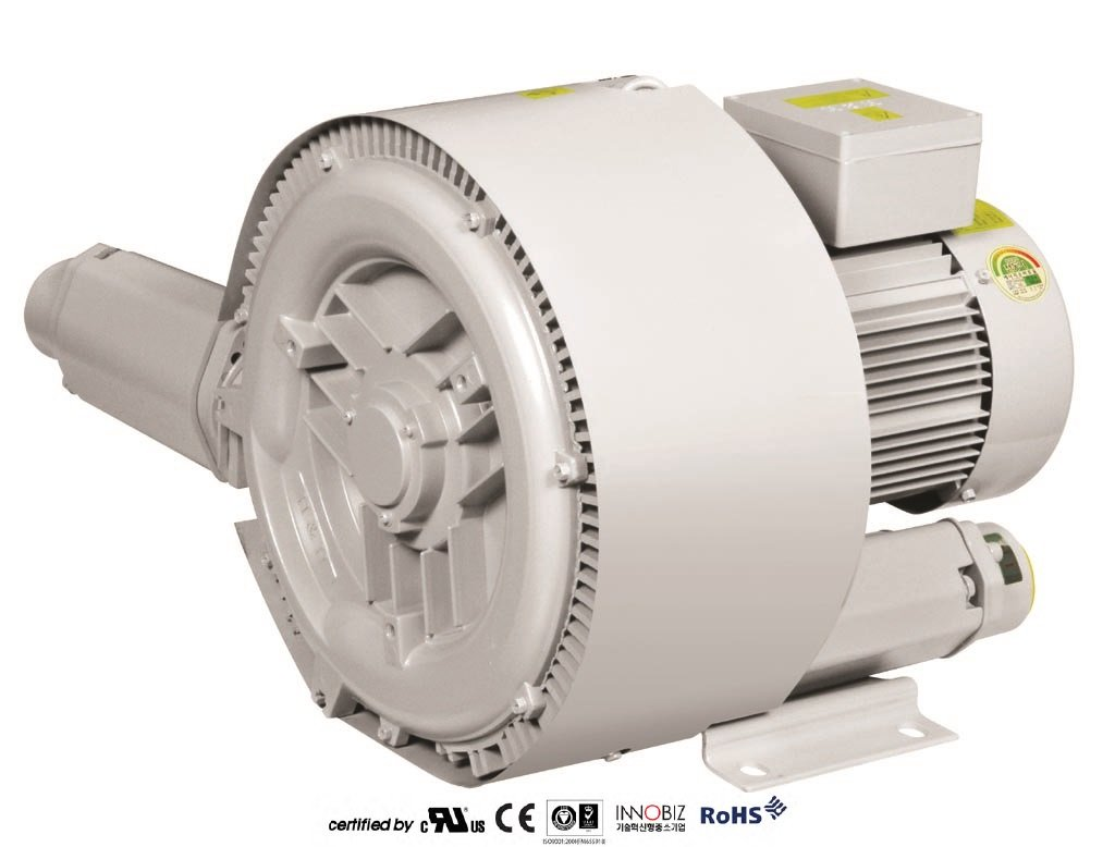 Pacific Regenerative Blower PB-502 (HRB-502), Ring, Side channel, Vacuum Pressure Blowers