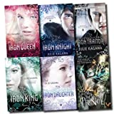 The Iron Fey Series Julie Kagawa Collection 6 Books Set (The Lost Traitor, The Lost Prince, The Iron Knight, The Iron King, The Iron Daughter, The Iron Queen)
