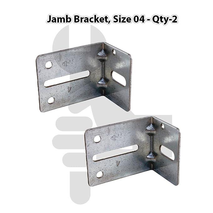 Size 05 Track Jamb Bracket PK2