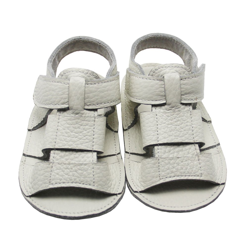 Alamana Stylish Magic Tape Baby Infant Soft Sole Warm Anti-Slip Prewalker Toddler Shoes White 11cm