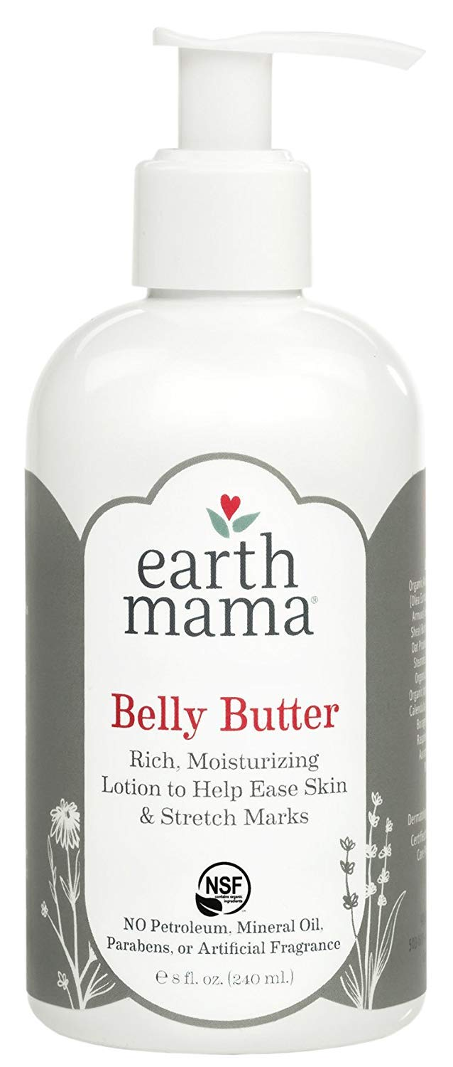 Earth Mama Belly Butter to Help Ease Skin and Stretch Marks, 8-Fluid Ounce (3-Pack)