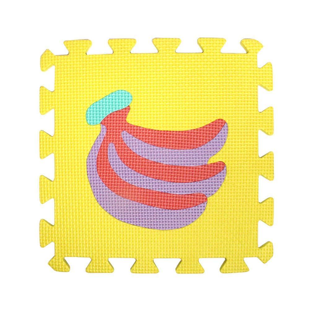 Antid/érapant et Anti-chute Tapis Mousse Epais Bebe 10pcs 30 * 30 * 1cm Tapis D/éveil pour Enfant Inspirez la Vision et la Croissance Intellectuelle de Votre B/éb/é Puzzle de la Sagesse