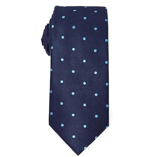 Corbata de Corbata Tejido de Microfibra Flaco Corbata Corbata de ...