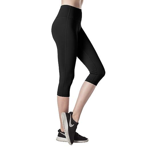 62 opinioni per Lapasa Donna Capri Leggings 3/4 Allenamento Opaco Yoga Fitness Spandex Palestra