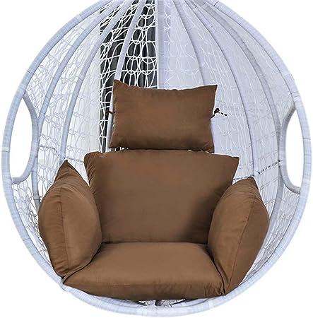 Cojín Egg Hammock, Cojín de silla giratoria de jardín para jardín de patio, solo cojín: Amazon.es: Hogar