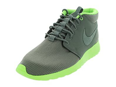 f6875125e262 Nike Rosherun MID Mercury Grey Mrcry Gry Flsh Lm Running Shoes 10 Men US