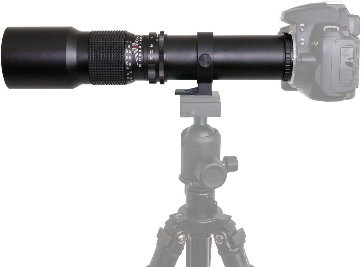 Opteka 500mm f//8 High Definition Preset Telephoto Lens for Pentax DSLR Cameras