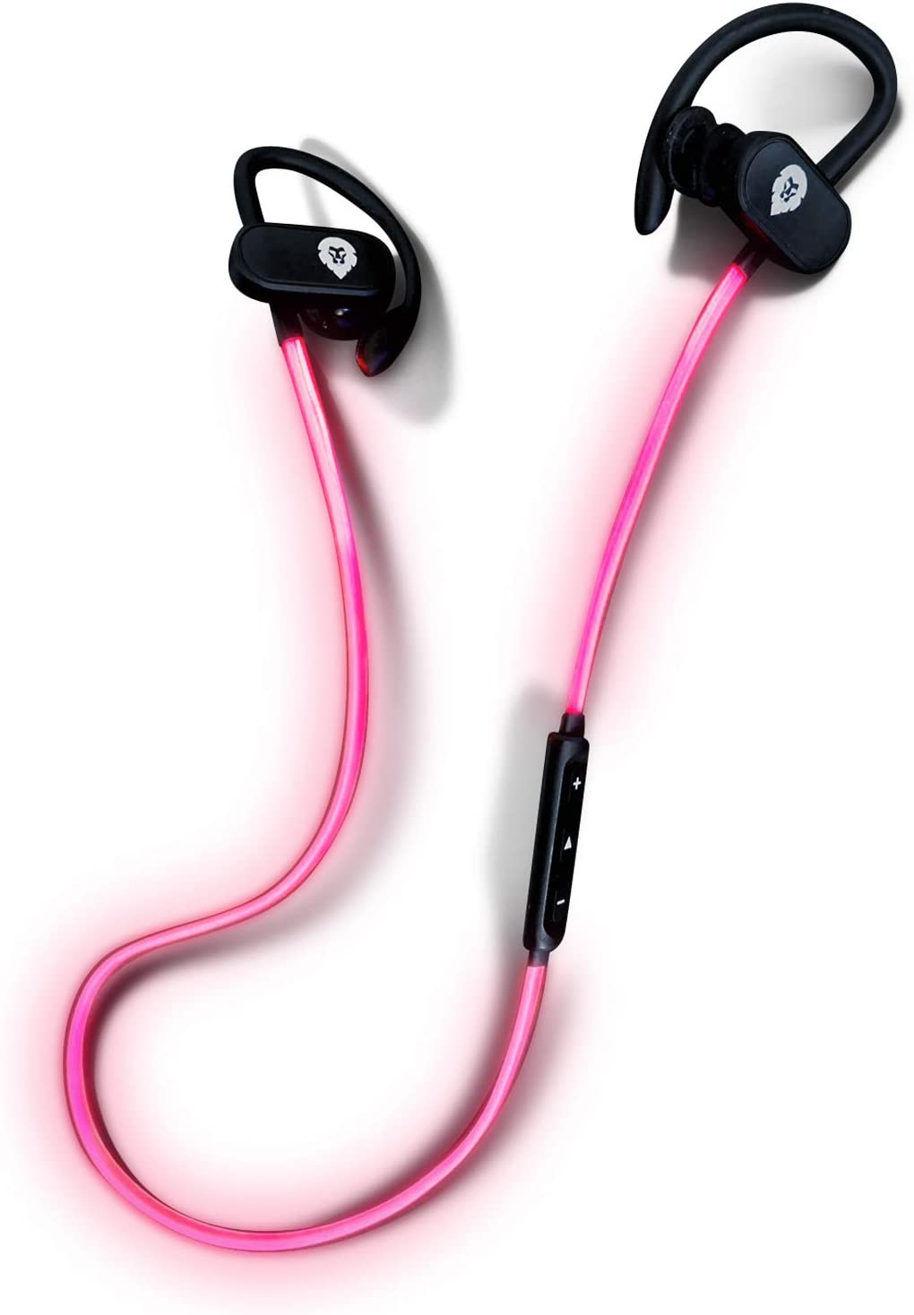 Auriculares Bluetooth Deportivos Luminosos Encore Soul Run, Marca Europea, Auriculares inalambricos Bluetooth 12h Sonido estéreo, Cascos Bluetooth con Micro para Smartphone, Tablet, pc iOS y Android