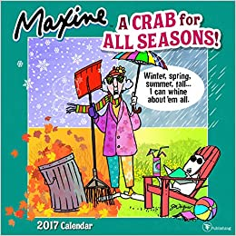 2017 Maxine by Hallmark Wall Calendar: Hallmark: 9781624386923 ...