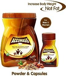 Accumass Weight Gain Combo Pack