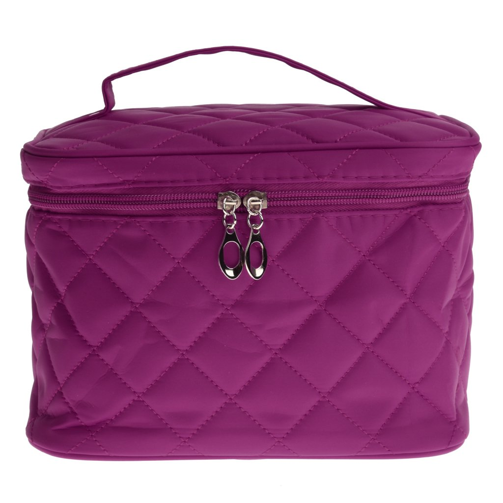 e339da841e7 Buy Generic Multifunctional Cosmetic Storage Bags Foldable Travel Outdoor Makeup  Bag Pouch - purple Online at Low Prices in India - Amazon.in