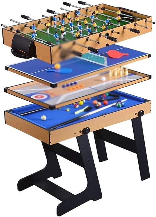 WNN-URG Table Top Football Juego de Mesa del Partido de fútbol de fútbol pequeño Mini Juegos de fútbol Tablas de Mini-Tenis Foosball URG: Amazon.es: Hogar
