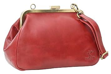 Gusti Leder /'Luzie/' Handtasche Ledertasche Abendtasche Vintage Damentasche