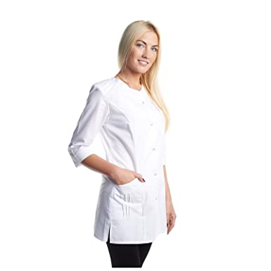 Vest Albus Bata Laboratorio Mujer Medida (XS)