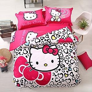 hello kitty bedroom set twin size teen girls hello kitty bed bedding