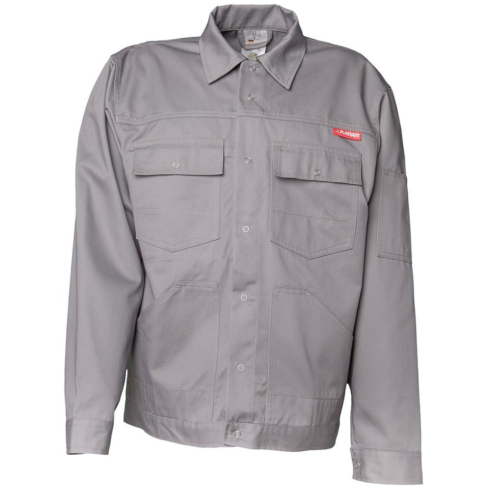 Planam 815050'MG 260' Waisted Jacket, Grey, 50
